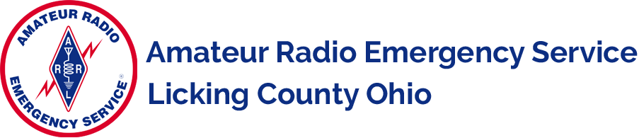 Licking County ARES Logo